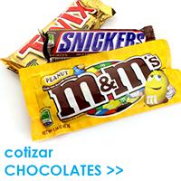 Cotizar CHOCOLATES